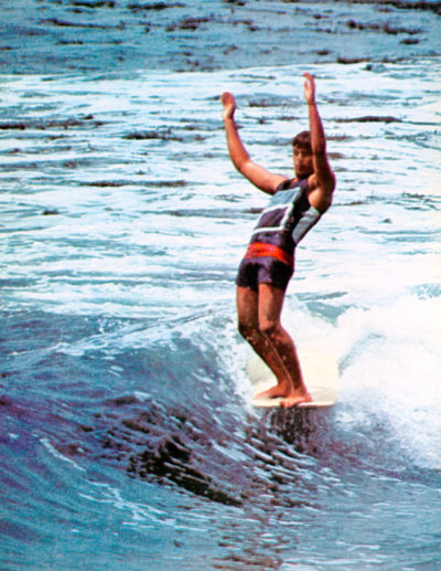 Surf International magazine.  Photo by Leroy Grannis.