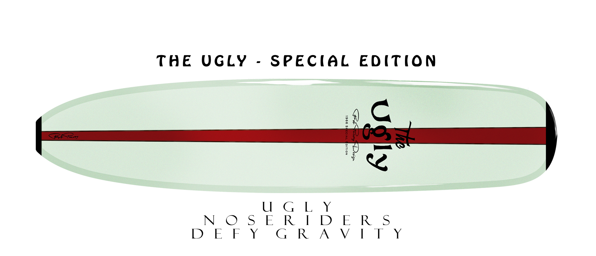 The Ugly Surfboard – Home
